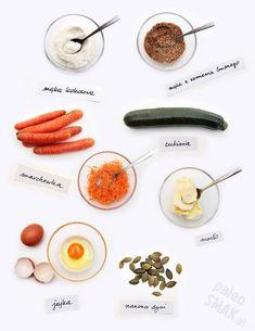 Chleb niskowęglowodanowy paleo (z warzyw) Paleo, Keto, Lchf Diet, Healthy Recipes, Healthy Food, Low Carb, Bread, Healthy Foods, Brot