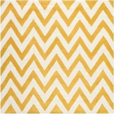Safavieh Cambridge Kaitlyn Hand-Tufted Wool Area Rug, Gold