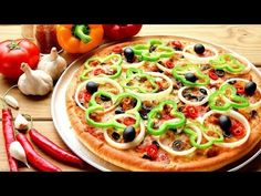 Make pizza easily at home with/without oven