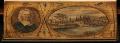 Fore-edge paintings: 'The complete angler of Isaak Walton and Charles Cotton', 1835, by Izaak Walton