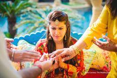 Haldi Ceremony, Wedding Ceremony, Players Wives, Blue Sherwani, Yellow Suit, Mumbai Indians, Red Lehenga, Wedding Story, Tie The Knots