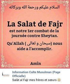qu'Allah nous aide à l'accomplir ! Prayer Times, Daily Prayer, Muslim Beliefs, Islam Muslim, Pillars Of Islam, Coran Islam, Love In Islam, Islamic Quotes, Salads