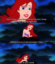 Part of your world--The Little Mermaid