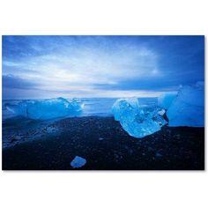 Trademark Fine Art 'Big Blue' Canvas Art by Philippe Sainte-Laudy, Size: 22 x 32, Multicolor