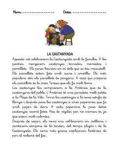 Lectures de la castanyada, nadal i tardor Conte, Valencia, Trip Planning, Language, Classroom, Education, School, Assessment, Ideas