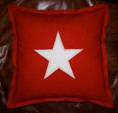 Gorgeous Wool Star Cushion