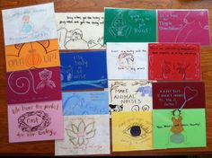 Birth Affirmation Cards. Custom Made. Can be Birth by Mamapaints, $50.00