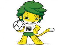 mascota (pet) del mundial de sudafrica 2010 de fútbol (soccer)