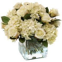 Rose & Hydrangea Arrangement