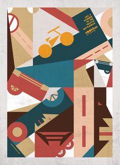 Zoobiker: Like a hammer to the traffic bottleneck--Zoobiker go pedaling  #advertising