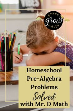 Homeschool Pre-Algebra Problems Solved with Mr. D Math Homeschool Math Homeschool Pre Algebra Homeschool Algebra Homeschool Math Resources Homeschool Math Problems Homeschooling Math Math Online Homeschool Online Math Online Mat Homeschool Curriculum Reviews, Homeschool Books, Homeschool High School, Online Homeschooling, Algebra Problems, Teaching Math, Math Math, Math Class, Maths Fun
