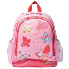 Bobble Art Large PVC Backpack - Butterfly    Price: $39.95  Bobble Art Flower PVC Backpack! Great size for kinder, day care, school and sports gear!!