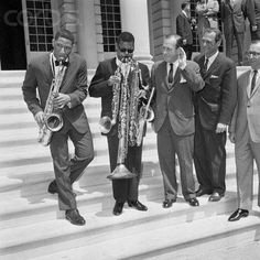 Sonny Rollins and Roland Kirk play for NYC Mayor Robert Wagner [27 April 1962]