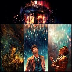 Doctor Who art by Alice X. Zhang - just beautiful.<< I hate how 10 doesn't appreciate the beauty that 9 and 11 recognize. This is only one of the reasons why I don't like 10.