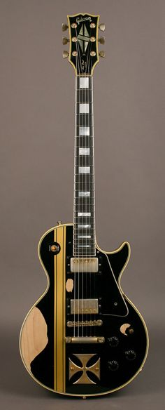 "James Hetfield | '73 Gibson Les Paul Custom, ""Iron Cross."""
