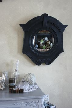 miroir oeil de boeuf gendarme miroirs pinterest. Black Bedroom Furniture Sets. Home Design Ideas