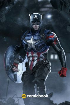 Sebastian Stan as Captain America