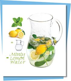 more spa water recipes.