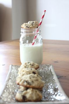 Cream Cheese Chocolate Chip Cookies.