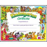 Kindergarten Certificate PK-K Certificates & Diplomas from TREND. Teacher-created, award-winning learning products for Pre-K to Grade 9. TRENDenterprises.com.