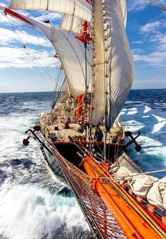 sailing schooner