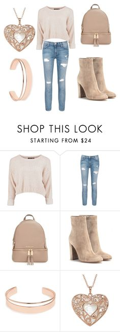 """""""#3"""" by andrea-broman on Polyvore featuring moda, Current/Elliott, MICHAEL Michael Kors, Gianvito Rossi y Leith"""