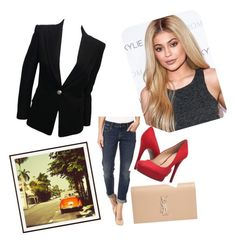 """""""Off to Acapulco"""" by oudanne ❤ liked on Polyvore featuring Pottery Barn, Tommy Bahama, Balmain, Yves Saint Laurent, Jessica Simpson and kardashian"""
