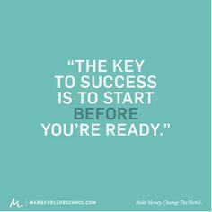 Ready to start your business? B-School is open. Get mentored by the best. Click inside to learn more!