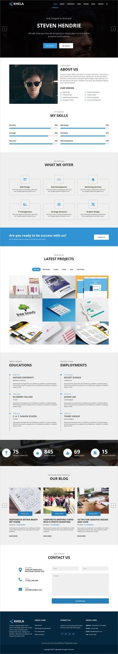 Pagge   Landing Page HTML Templates   Contact Book Template  Contact Book Template