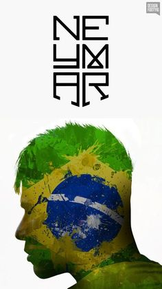 Now that FIFA world cup is only a day away,I'm even more excited for Neymar to play for Brazil. Brazil Football Team, Neymar Football, Best Football Players, Soccer Players, Neymar Jr Wallpapers, Neymar Brazil, Barcelona Soccer, Fc Barcelona, Cristiano Ronaldo Lionel Messi