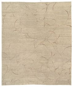 Part of the Kotana collection by Tufenkian Rugs, the Iceplum Ash transitional Oriental carpet will have lovers of quality swooning. Hand knotted from the finest wool, it features an elegant floral design and comes in a selection of colors. http://www.cyrusrugs.com/tufenkian-rugs-james-tufenkian-item-10952&category_id=0