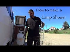 How to Make an Outdoor Portable Camp Shower DIY Living in a Van - Bethany Corinne Allen - Buscraft Camping Bushcraft Camping, Camping Diy, Camping With Kids, Tent Camping, Camping Hacks, Camping Gear, Glamping, Backpacking, Women Camping