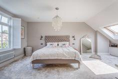 Our Property Renovation Journey: Part 4 – Laura Butler-Madden Dormer Bedroom, Attic Master Bedroom, Attic Bedroom Designs, Attic Bedrooms, Bedroom Loft, Attic Bedroom Decor, Loft Conversion Bedroom, Loft Conversion Windows, Loft Conversions