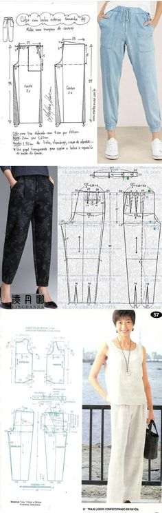 Corset Sewing Pattern, Dress Sewing Patterns, Clothing Patterns, Kpop Fashion Outfits, Suit Fashion, Casual Day Dresses, Pants Pattern, Fashion Sewing, Handmade Clothes