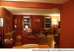 decoracion buscar con google warm paint colorsliving room - Warm Wall Colors For Living Rooms