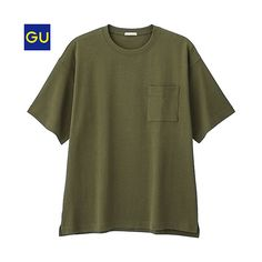 GU(GU)ヘビーウェイトビッグT(半袖) - GU ジーユー