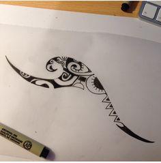 Love this Hawaiian tattoo Maori Tattoos, Tribal Wave Tattoos, Maori Tattoo Frau, Polynesian Tattoos Women, Hawaiian Tribal Tattoos, Polynesian Tattoo Designs, Forearm Tattoos, New Tattoos, Hand Tattoos