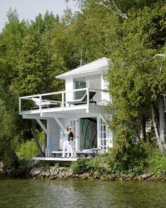 La casa del lago | Decorar tu casa es facilisimo.com