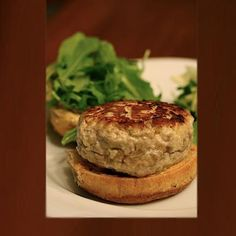 tuna burgers. easy and low calorie...would make a great lunch or  dinner :)