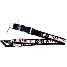 cbf104be54f2 Georgia Bulldogs Lanyard - Detachable Keychain Fanny Pack, Products,  Lanyards, Georgia Bulldogs,