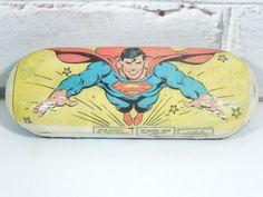 Superman Comic Book Glasses CaseCustom by Moonlightdecorator, $29.00