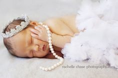 diy newborn crown