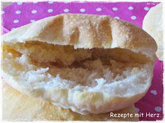 Rezepte mit Herz ♥: Brottaschen - ratz fatz für Döner, Gyros etc.
