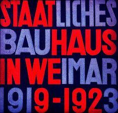 Capa do Catálogo de produtos da Bauhaus, desenhada por Herbert Bayer