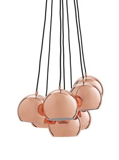 Find out all of the information about the Frandsen Lighting product: pendant lamp BALL MULTI. Copper Ceiling, Copper Pendant Lights, Metal Chandelier, Contemporary Pendant Lights, Pendant Lamp, Pendant Lighting, Vintage Light Fixtures, Outdoor Light Fixtures, Modern Light Fixtures
