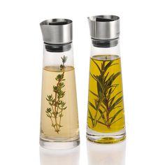 Blomus Alinjo Oil and Vinegar Set with carafe designs for sleek…