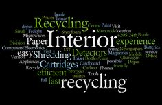 Interior Recycling Word Cloud Recycling Center, Mobile Office, Cloud, Canning, Words, Interior, Products, Indoor, Interiors