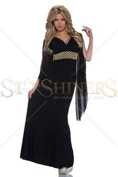 Selfish Queen Black Dress