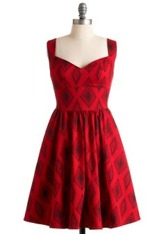 Ah, Modcloth.  You never fail to tempt me with your beautiful dresses.  This one is a knockout.