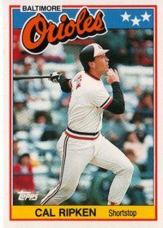 Favorite baseball player: Cal Ripken Jr.